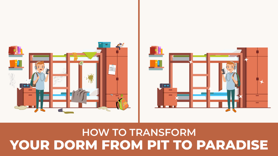 How to Transform Your Dorm from Pit to Paradise | Absolute