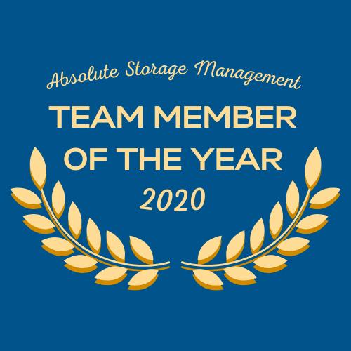 2020 ASM Team Member of the Year